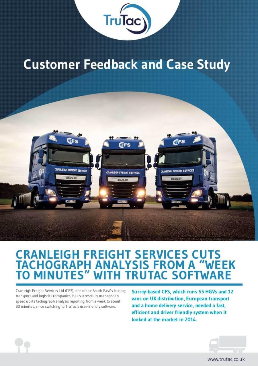 Cranleigh Freight - https://www trutac co uk